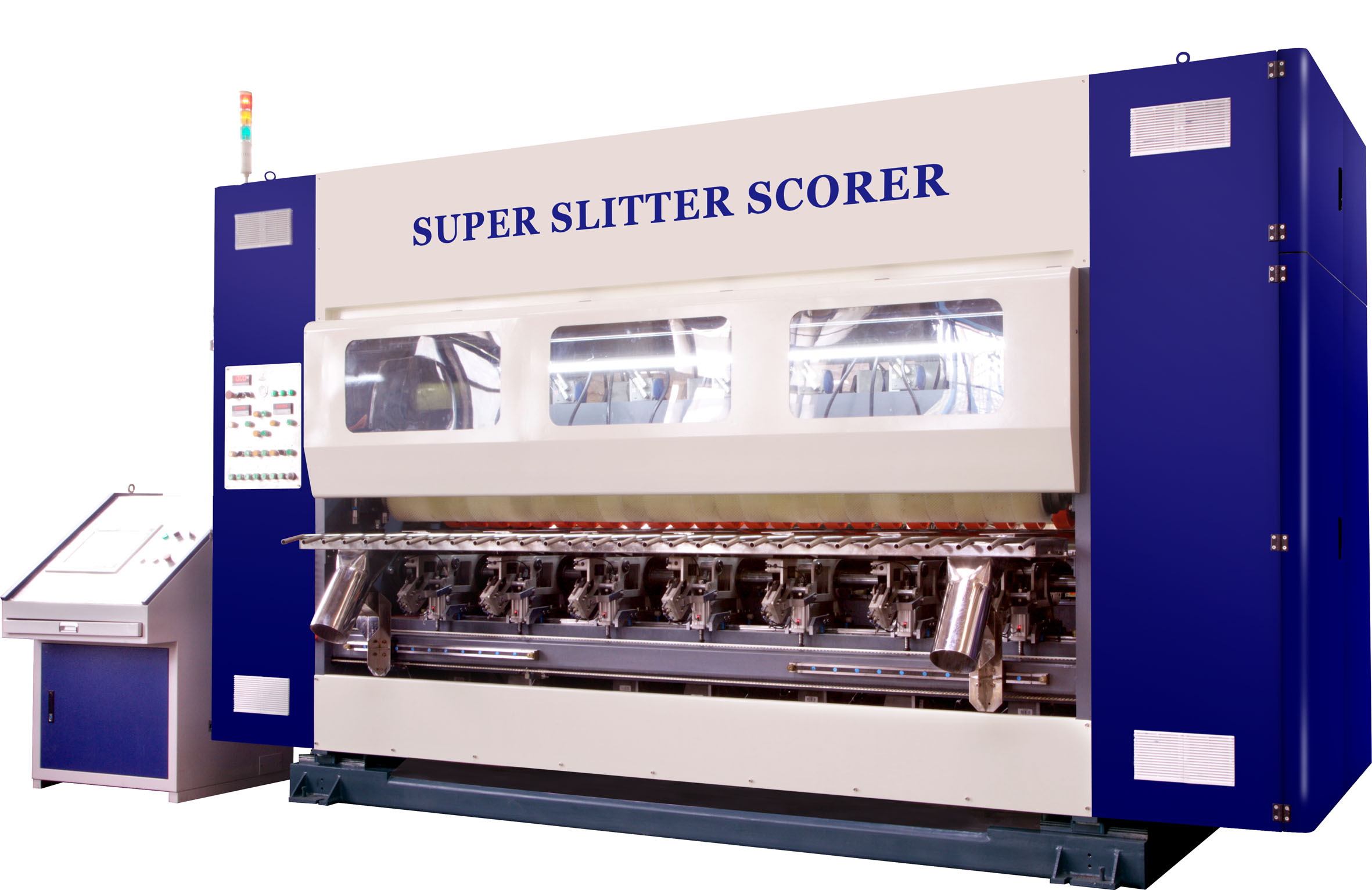 HIGH-END COMPUTER-CONTROLLED SLITTER SCORER